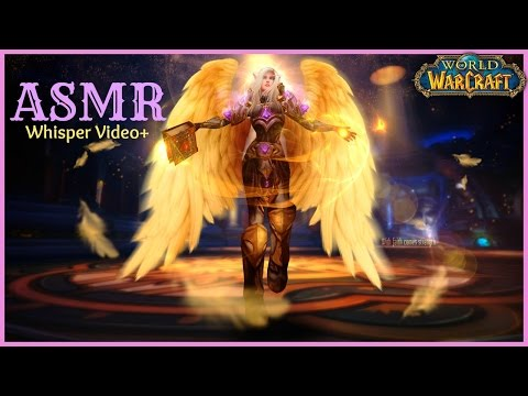 *ASMR* World of Warcraft: Paladin Daily Routine | Whisper Video