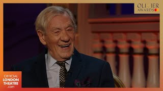 Ian McKellen honoured with Special Award | Olivier Awards 2020 with Mastercard