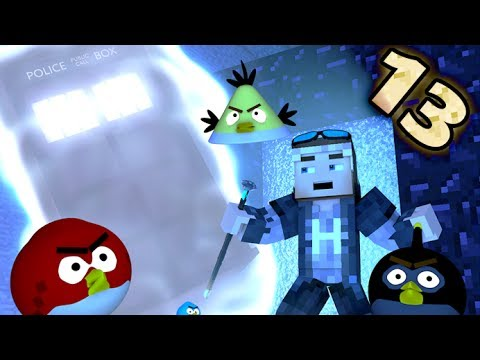 ANGRY MINECRAFT 13!  [Angry Birds 3D...