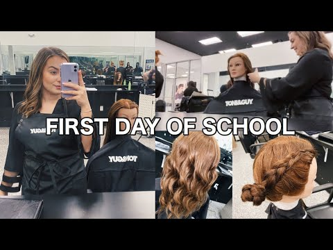 first-day-of-cosmetology-school|-toni-&-guy-hairdressing-academy