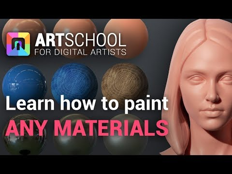 Learn To Paint any Skin, Metals, Plastics and more - ART School Tutorial thumbnail