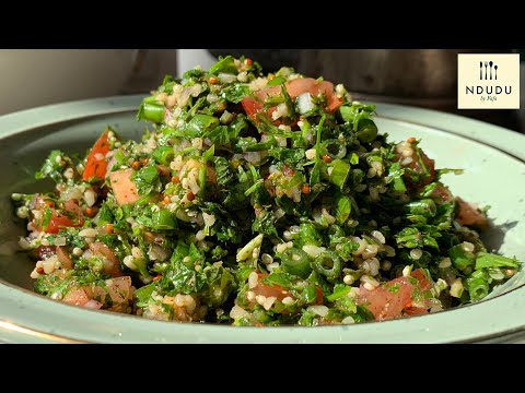 THE TASTIEST TABBOULEH RECIPE YOU NEED TO TRY NOW