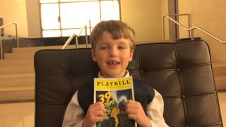 Iain reviews 39 Steps (off Broadway) 5/6/2015