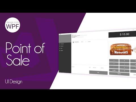 C# WPF Design UI - Point Of Sale