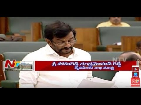 Somireddy Chandramohan Reddy Speech on Agriculture Allied Sectors || AP Assembly Sessions