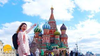ไม่เข้าเหมือนไปไม่ถึง ! มหาวิหาร St. Basil โดมหัวหอมสีๆ นี่แหละ MOSCOW   เที่ยวรัสเซีย【13】   Russia