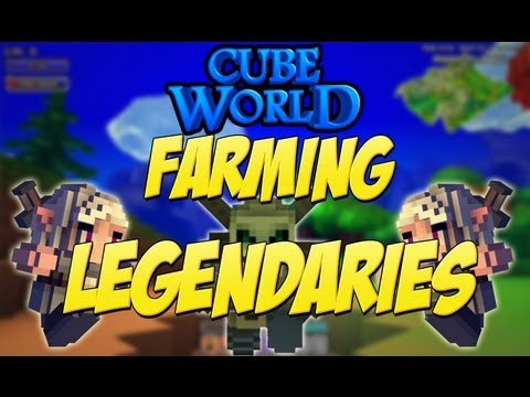 Cube World Farming - EASY GUARANTEED LEGENDARY GEAR