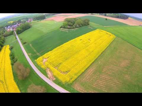 Beaumont-Hamel, Sunken Lane & Hawthorn Ridge, By Drone