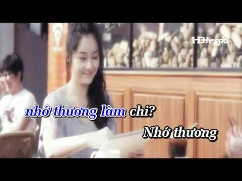 [Karaoke HD] KẺ BƯỚM HOA - Lưu Chí Vỹ