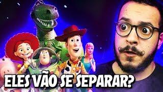 O WOODY VAI SE SEPARAR DO GRUPO!? - Toy Story 4