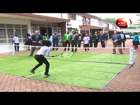 Eastern Africa Tennis training centre officially opened in Kenya