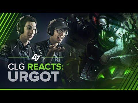CLG REACTS | Urgot Rework