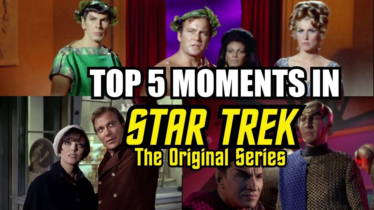 The TOP 20 Moments from Star Trek The Original Series