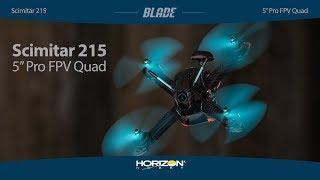 "Load Video 2:  Blade® Scimitar™ 215 Pro BNF Basic 5"" FPV Racer"