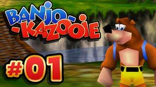 Ein Bär und ein Vogel! | #01 | Let's Play Banjo-Kazooie