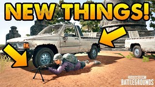 PUBG // NEW CAR, NEW GUN, NEW UPDATE // Live Stream Gameplay thumbnail