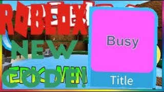 NEW BUSY TITLE CODE IN EPIC MINIGAMES | ROBLOX