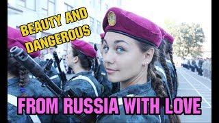 BEAUTIFUL SEXY RUSSIAN FEMALE HELL MARCH PARADE
