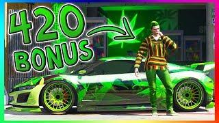 GTA 5 ONLINE - 420 HIGHDAY WEED SPECIAL! | RABATTE, BONUS & MEHR! | GTA V Update
