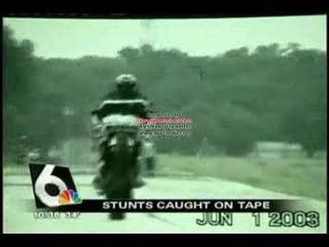 News story on biker stunt videos - Omaha