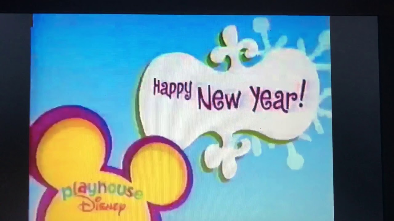 playhouse disney id happy new year