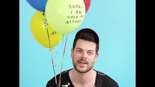 Sorry I'm Such an Asshole Balloons by Adam J. Kurtz