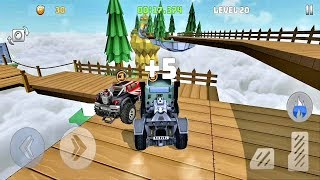 Mountain Climb : Stunt - Gameplay Video  4x4 game - Android Gameplay HD #2