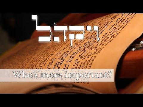 Parashat Vayakhel - Who's more important? - Rabbi Alon Anava