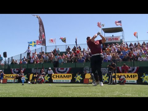 2013 World Long Drive Championship - Ultimate 48 - Joe Miller In The Groove