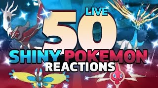 50 AMAZING SHINY POKEMON REACTIONS! Pokemon Shiny Montage!