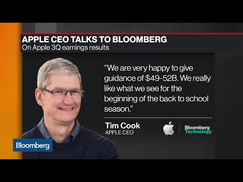What Tim Cook Had to Say About Apple's Earnings