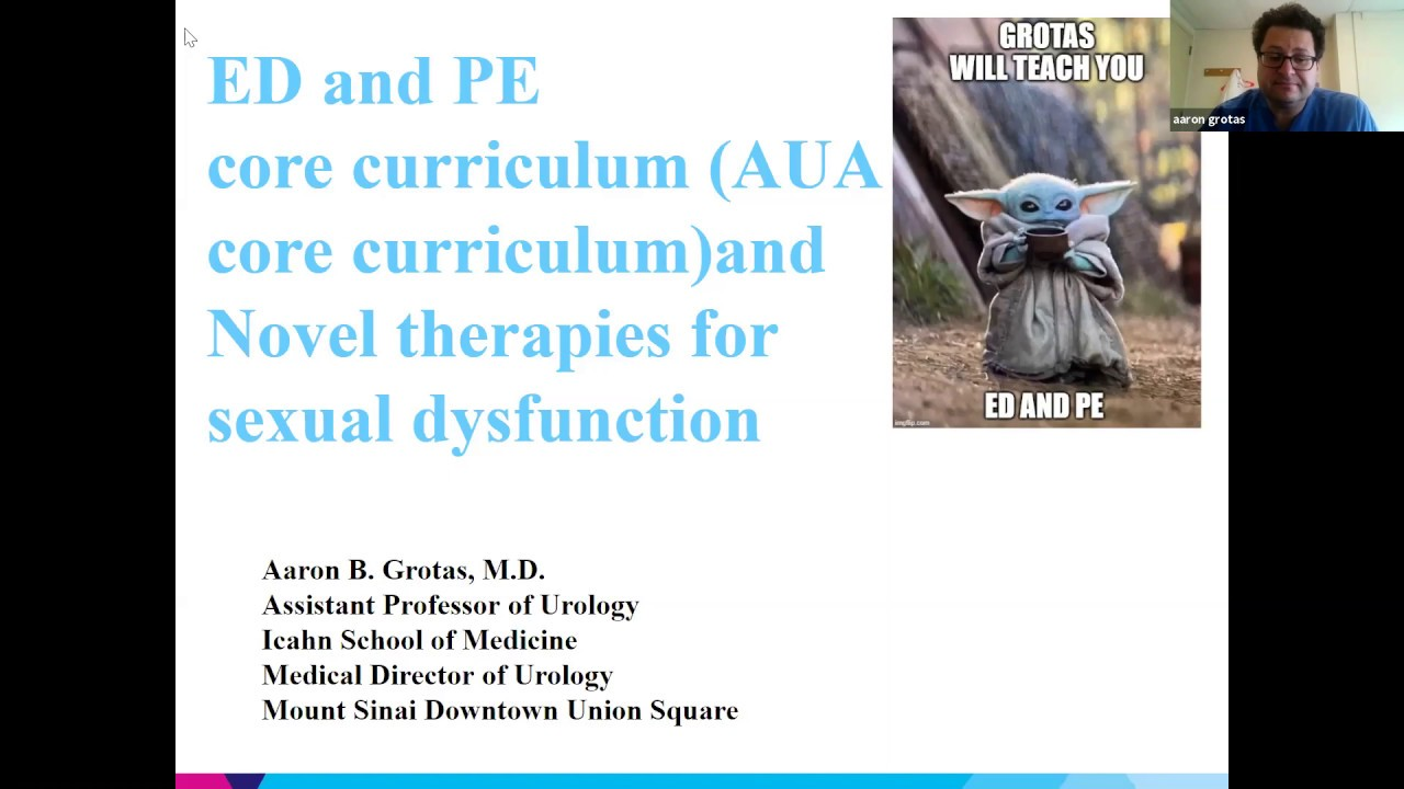 Download Erectile Dysfunction and Premature Ejaculation - EMPIRE Urology Lecture Series