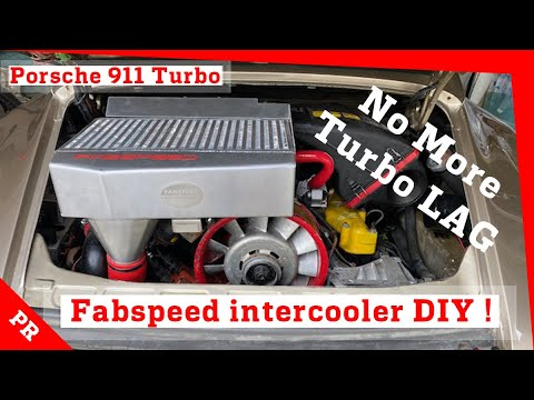 Fabspeed intercooler DIY install on Porsche 911 turbo – NO MORE TURBO LAG