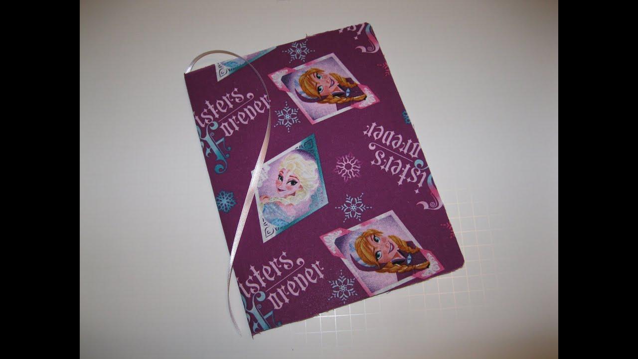 2048a6d195d FROZEN Disney Princess Elsa Anna DIY How To Make Book Journal for School  Backpack