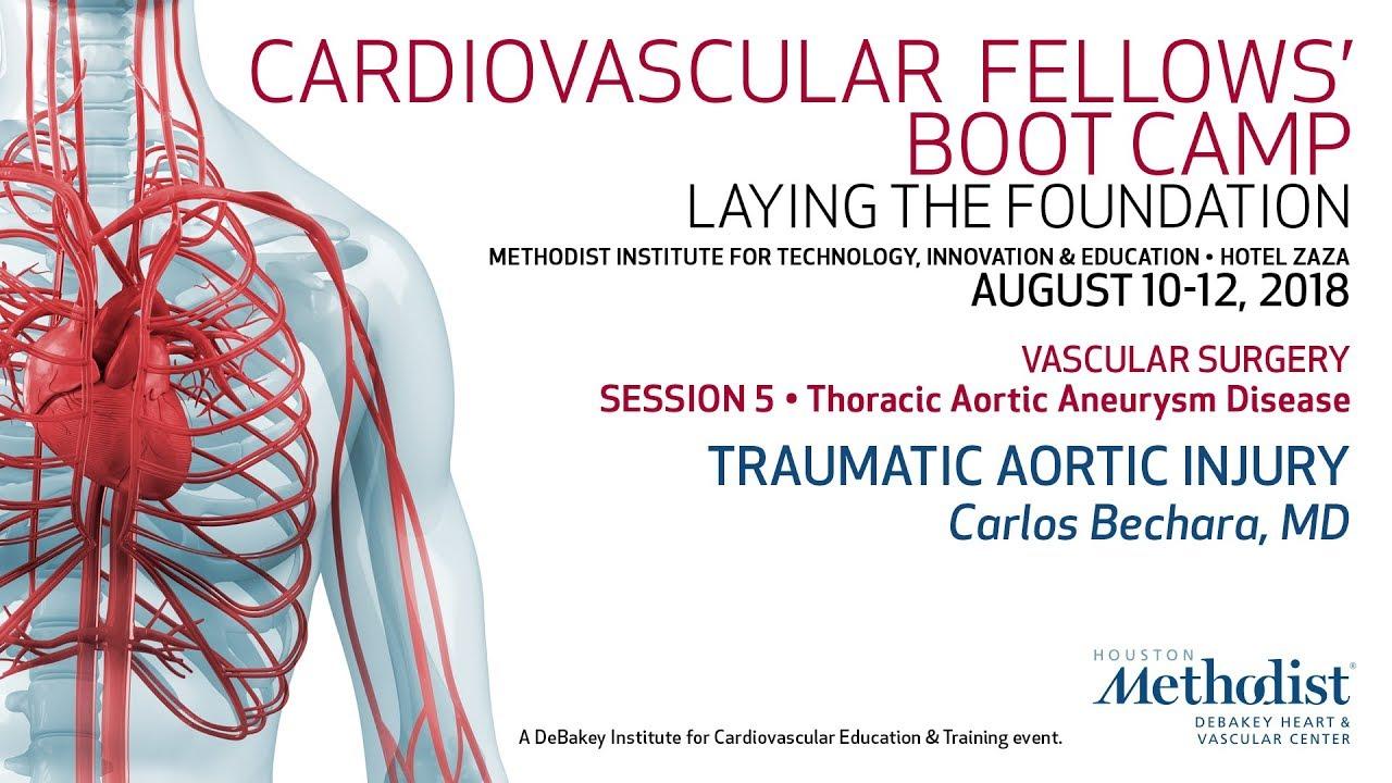 Traumatic Aortic Injury (Carlos Bechara, MD)