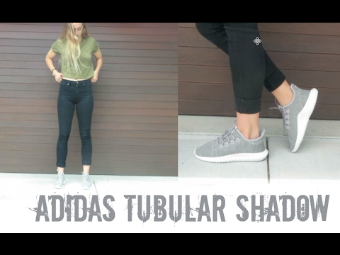 new product 196d9 ce47a Adidas Tubular Shadow Review + Try Ons | kenziemeg