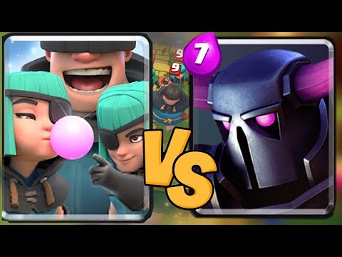 "LITTLE RASCLES ARE BEAST!! ""clash royale"" CHALLENGE MODE!"