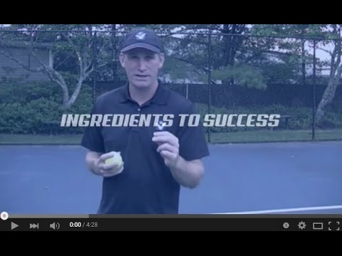 Tennis Lesson on Mental Toughness: Mental Ingredients to Success