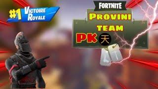 Fortnite provini team PK+regalo skin a uno di voi