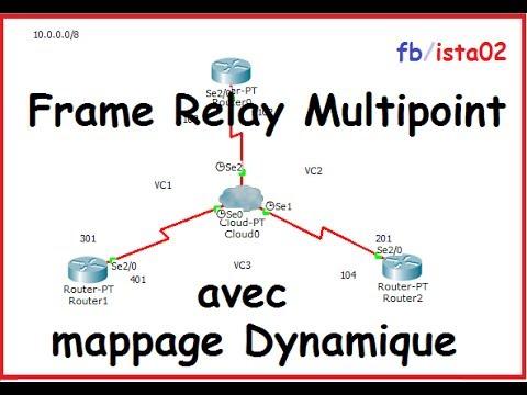 Darija ] Frame Relay Multipoint avec mappage Dynamique 720p HD ...