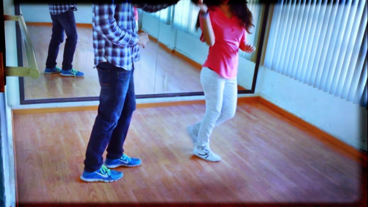 como bailar west coast swing clase 5 vuelta derecha