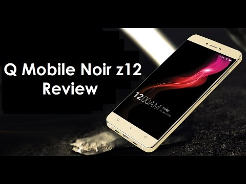 Qmobile Noir Z12 Review   Smart Reviews by Kanwal  