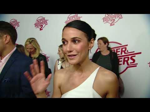 Super Troopers 2: Emmanuelle Chriqui World Premire Red Carpet