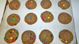 Chocolate Peanut Butter M&m Cookies Recipe