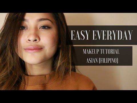 Easy Everyday Make Up Tutorial | Asian Skin (Filipino)