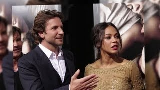 Bradley Cooper and Zoe Saldana Split Again? - Splash News