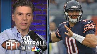 Big line movement on Mitchell Trubisky's MVP odds   Pro Football Talk   NBC Sports