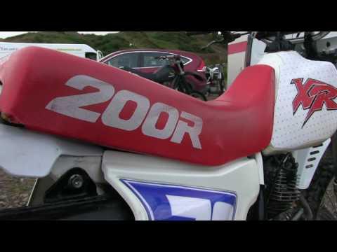 """Classic Dirt Bikes """"Honda XR 200"""""""