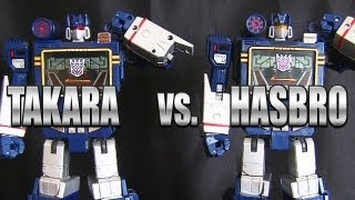 Video Masterpiece MP-13 TAKARA SOUNDWAVE vs. MP-02 HASBRO SOUNDWAVE Transformers robot review download MP3, 3GP, MP4, WEBM, AVI, FLV Agustus 2018