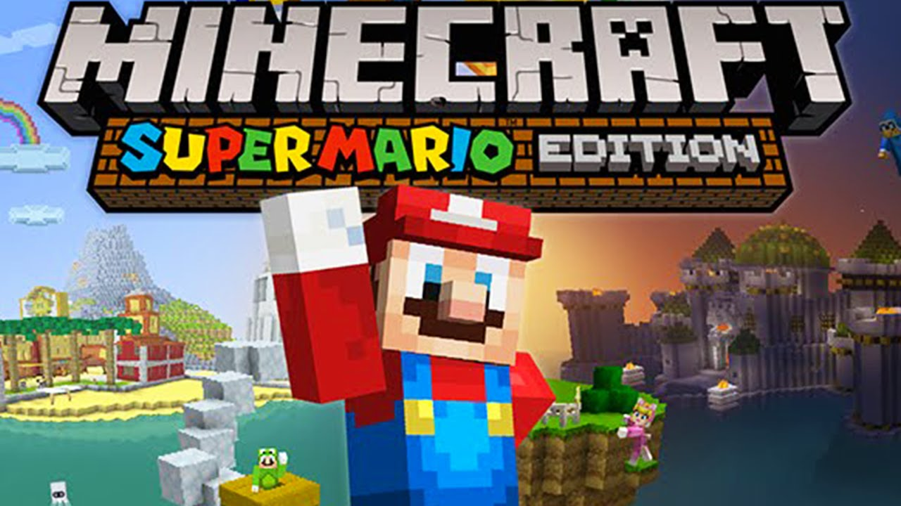 Minecraft Wii U Super Mario MashUp Pack  Free Update New World